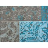 Dalyan vloerkleed Patch Vintage Aqua_