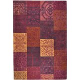 Dalyan tapijt Patch Vintage Rood_