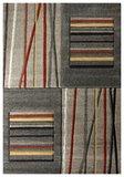 Beige moderne tapijten en vloerkleden Alor 1506_