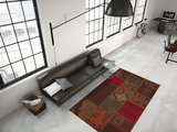 Print vloerkleed Transit Rood_