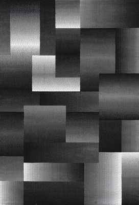 Goedkoop zwart vloerkleeed Tunis 6560/AY