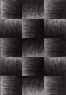 Zwart vloerkleed Brian 4210