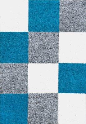 Moderne tapijten Calys 171 Turquoise