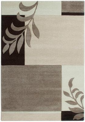 Ecru beige vloerkleed Fleur 930