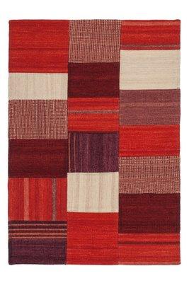Kelim vloerkleed, tapijt of karpet Rowena Rood