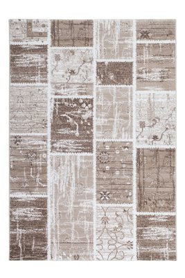 Vintage Patchwork exclusief vloerkleed of karpet Agila Beige