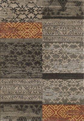 Goedkope vloerkleden en karpetten Borneo 1612 Bruin
