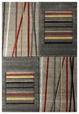 Beige moderne tapijten en vloerkleden Alor 1506