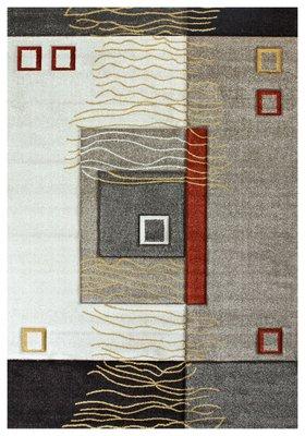Beige moderne vloerkleden en karpetten Alor 1504