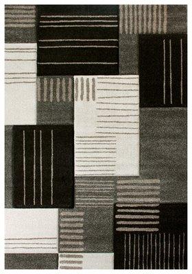 Vloerkleden en karpetten modern Alor 1502 Donkerbruin