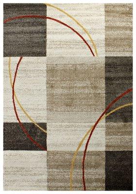 Moderne multicolor vloerkleden en tapijten Bisa 1706