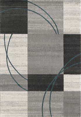 Moderne grijze vloerkleden en tapijten Bisa 1706