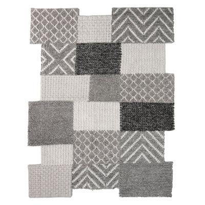 Exclusief vloerkleed Edor kleur grijs