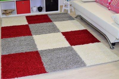 Ronde Vloerkleed Goedkoop : Modern rood vloerkleed hoogpolig ruit vloerkleed patchwork