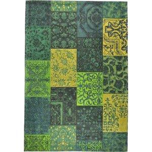 Vloerkleed Dalyan Vintage Geel Groen