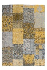 Vloerkleed Vintage Patchwork.Patchwork Vloerkleed Vintage Geel